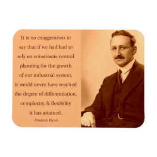 Hayek en el planeamiento central imanes flexibles