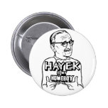 Hayek es mi botón del Homeboy Pins