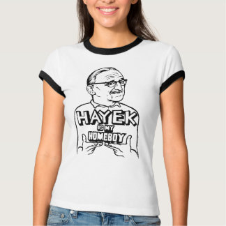 Hayek es mi camiseta del Homeboy Polera