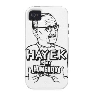 Hayek es mi Homeboy iPhone 4 Carcasas