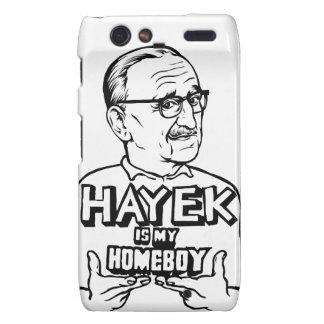 Hayek es mi Homeboy Motorola Droid RAZR Carcasa