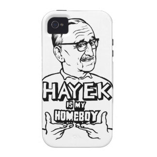 Hayek es mi Homeboy Vibe iPhone 4 Fundas