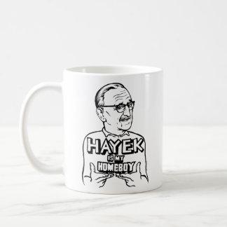 Hayek es mi taza del Homeboy