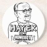 Hayek Is My Homeboy Coaster