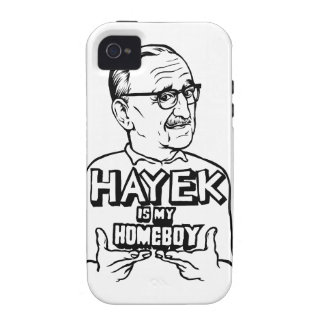 Hayek Is My Homeboy iPhone 4 Cases