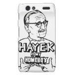 Hayek Is My Homeboy Motorola Droid RAZR Cases