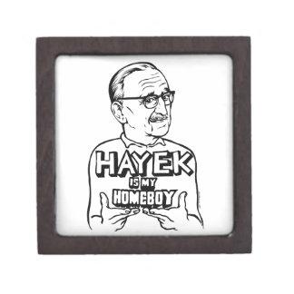 Hayek Is My Homeboy Premium Keepsake Box