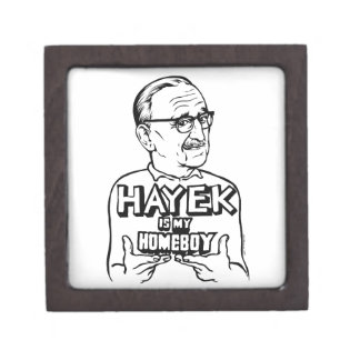 Hayek Is My Homeboy Premium Jewelry Box