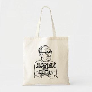 Hayek Is My Homeboy Tote Bag