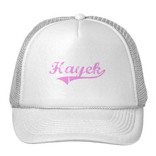 Hayek Last Name Classic Style Trucker Hat