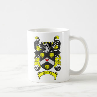HAYES Coat of Arms Coffee Mugs