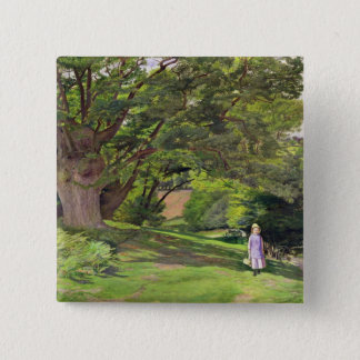 Hayes Common, 1852-53 (oil on canvas) Button