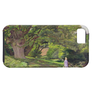 Hayes Common, 1852-53 (oil on canvas) iPhone SE/5/5s Case