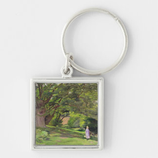 Hayes Common, 1852-53 (oil on canvas) Keychain
