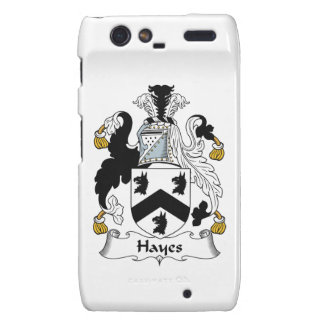 Hayes Family Crest Droid RAZR Covers