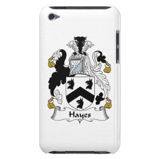 Hayes Family Crest iPod Touch Case-Mate Case