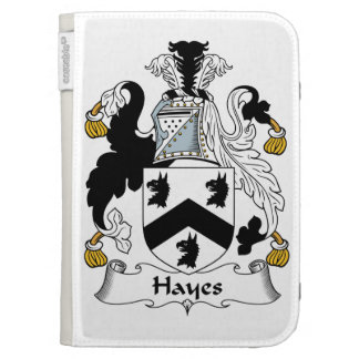 Hayes Family Crest Kindle Case