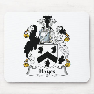 Hayes Family Crest Mouse Mats