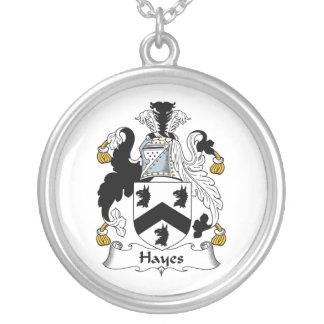 Hayes Family Crest Necklace