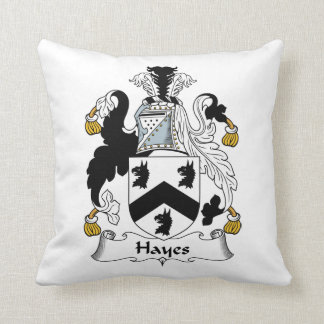 Hayes Family Crest Pillows