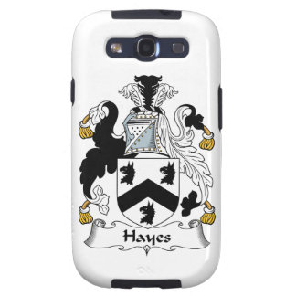 Hayes Family Crest Samsung Galaxy S3 Cover