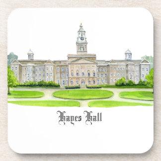 Hayes Hall Drink Coaster