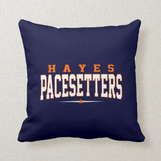 Hayes High School; Pacesetters Throw Pillow