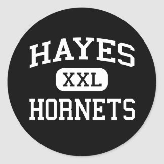 Hayes - Hornets - Junior - Saint Albans Classic Round Sticker