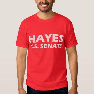HAYES PARA la camiseta de la campaña de SENADO de Remeras