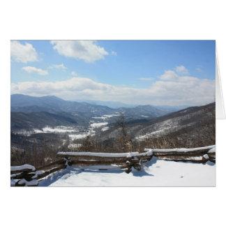 Hayesville Valley Card