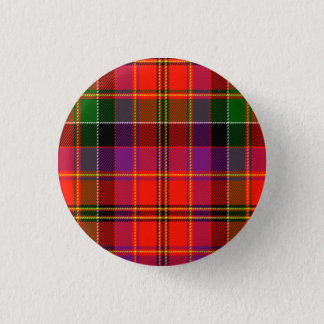 Hayfield Scottish Tartan Pinback Button