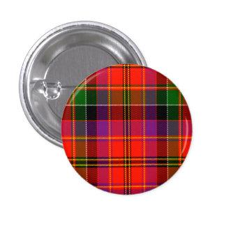 Hayfield Scottish Tartan Pinback Button