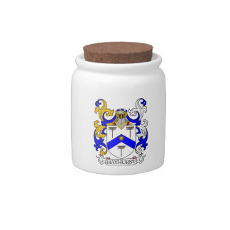 Hayhurst Coat of Arms Candy Dishes