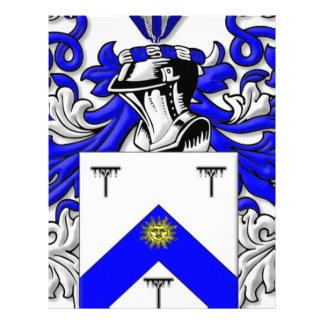 Hayhurst Coat of Arms Customized Letterhead