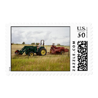 Haying in Golden Ranch Fields Postage