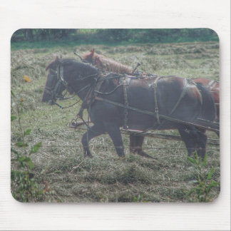 Haying in the Summertime Mouse Pad