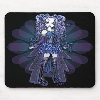 """Haylee"" Purple Tattoo Butterfly Fairy Mousepad"