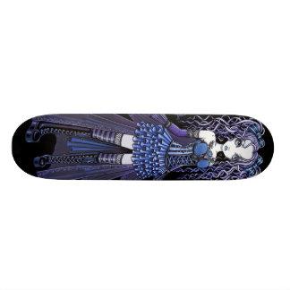 """""""Haylee"""" Purple Tattoo Butterfly Fairy Skateboard"""