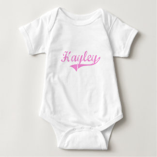 Hayley Classic Style Name Infant Creeper
