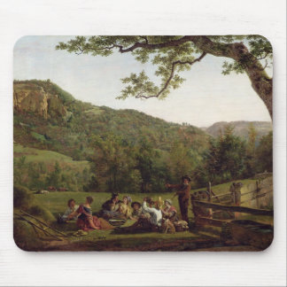Haymakers Picnicking in a Field Mouse Pad