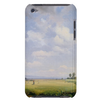 Haymaking, 1838 (oil on canvas) barely there iPod cover
