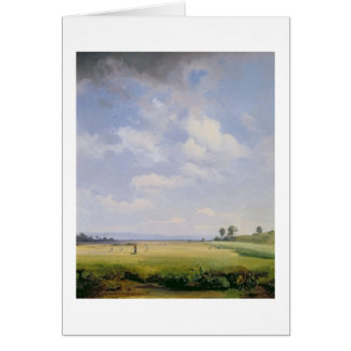 Haymaking, 1838 (oil on canvas) card