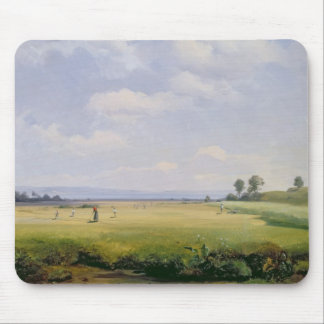 Haymaking, 1838 (oil on canvas) mouse pad