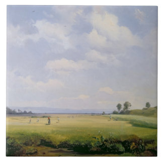 Haymaking, 1838 (oil on canvas) tile