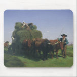 Haymaking, Auvergne Mouse Pads