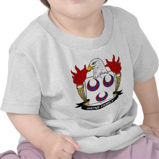 Hayne Family Crest T Shirts