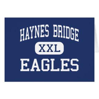 Haynes Bridge Eagles Middle Alpharetta Greeting Cards