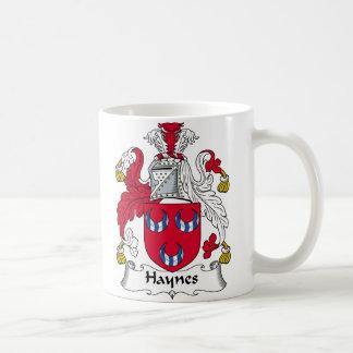 Haynes Family Crest Coffee Mug
