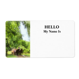 Hayride Label