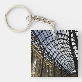Hay's Galleria London Single-Sided Square Acrylic Keychain